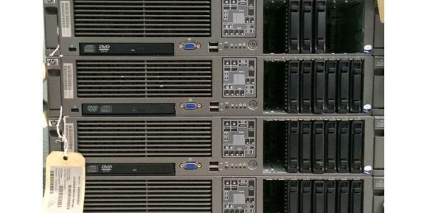 Servidor HP ProLiant DL380 G5 disponible