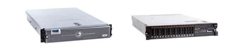 Dell Poweredge 2950 - IBM X3650
