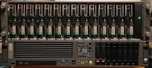 servidores HP Proliant DL380 G5 + Cabina de 14 discos
